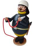 Räuchermann Max als Feuerwehrmann